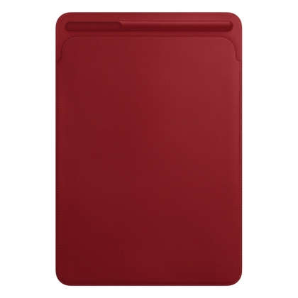 Leather Sleeve for 10.5‑inch iPad Pro/Air - (PRODUCT)RED