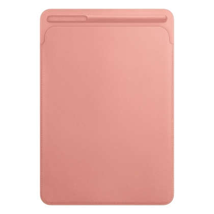 Leather Sleeve for 10.5‑inch iPad Pro/Air - Soft Pink