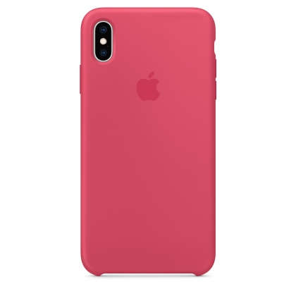iPhone XS Max Silicone Case - Hibiscus