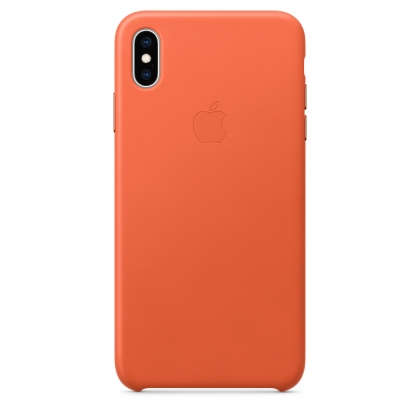 iPhone XS Max Leather Case - Sunset