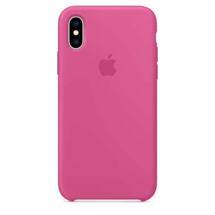 iPhone XS Max Silicone Case - Dragon Fruit