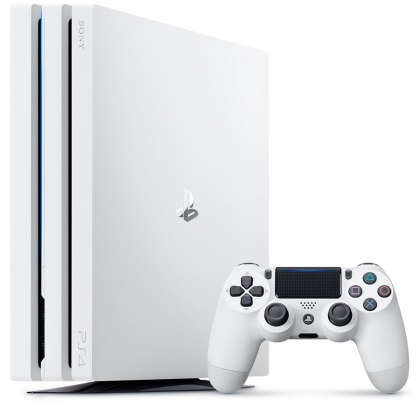 PlayStation 4 Pro - Glacier White