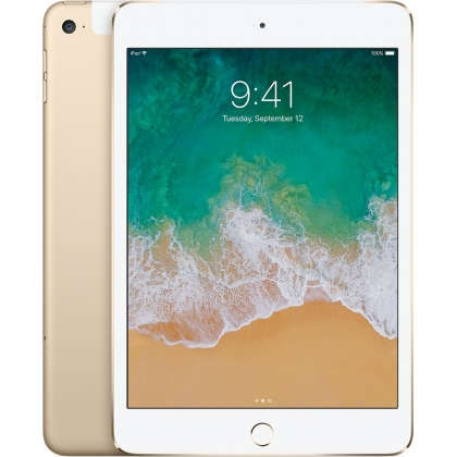 iPad mini 4 Wi-Fi + Cellular 128GB Gold