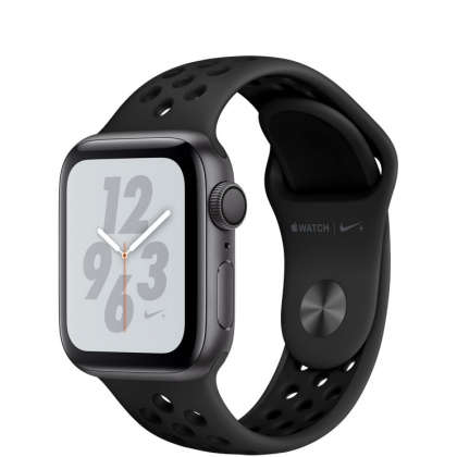 Apple Watch Nike+ Series 4 GPS 40mm Space Gray Aluminum Case with Anthracite/Black Nike Sport Band