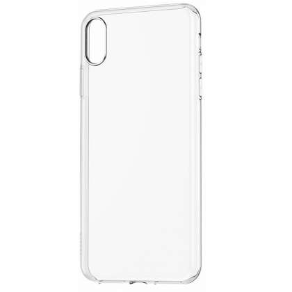 Silicone Clear Case for iPhone X/XS